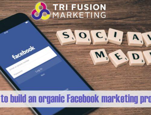 How to build an organic Facebook marketing program